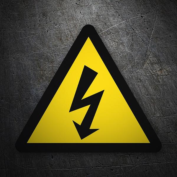 Adesivo segnali pericolo alta tensione for Alto pericolo il tuo account e stato attaccato