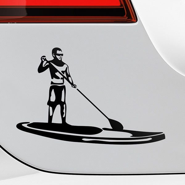 Adesivi per Auto e Moto: Stand Up Paddle Surf 0