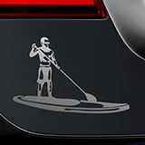 Adesivi per Auto e Moto: Stand Up Paddle Surf 2