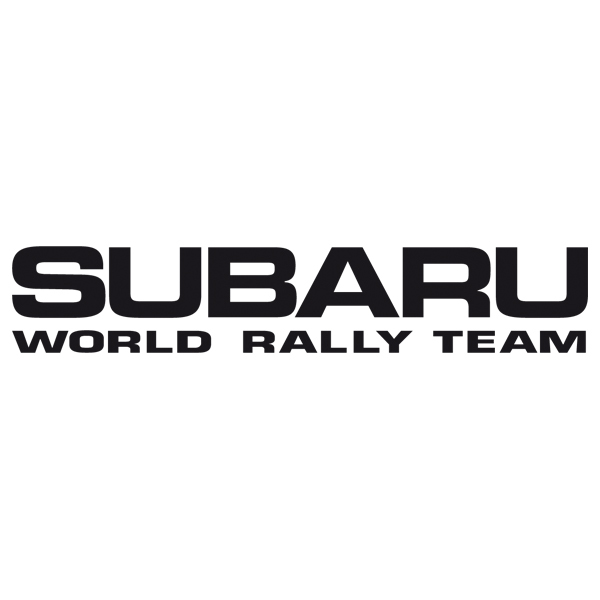 Adesivi per Auto e Moto: Subaru World Rally Team