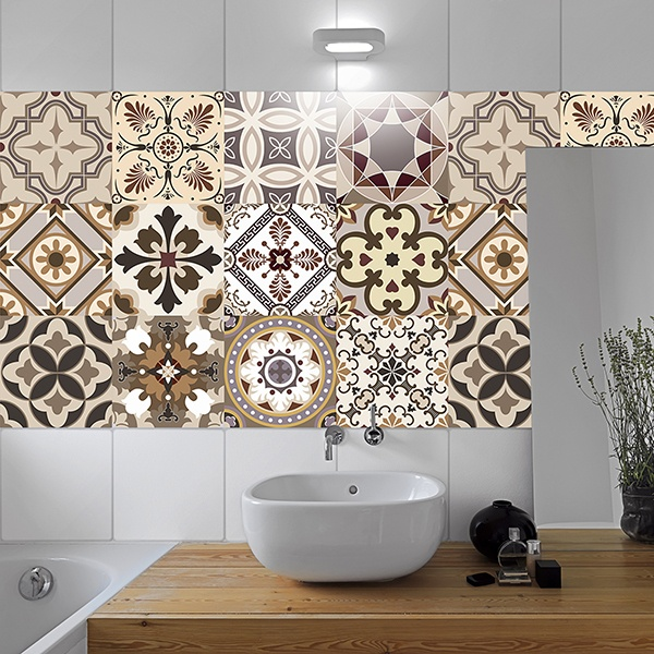 Stickers piastrelle acquista kitchen cabinet adesivi - Stickers per mattonelle bagno ...