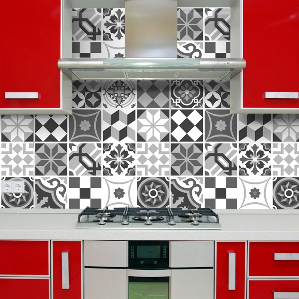 Beautiful adesivi murali per cucina images home interior for Stickers murali per piastrelle cucina