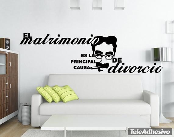 Adesivi murali matrimonio divorzio