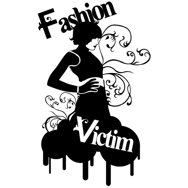 Adesivi Murali: Fashion Victim