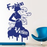 Adesivi Murali: Fashion Victim 2