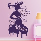 Adesivi Murali: Fashion Victim 4