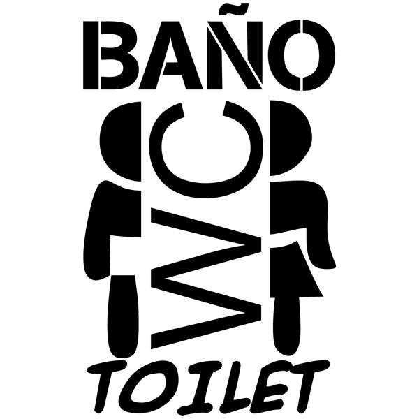 Sticker murali bagno bagno for Adesivi murali per bagno
