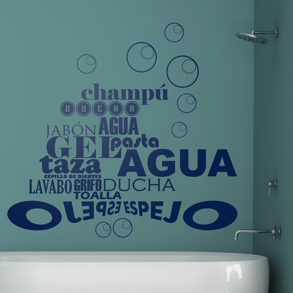 Frasi Sul Bagno. Gallery Of Adesivo Murale Frase Family Means With ...