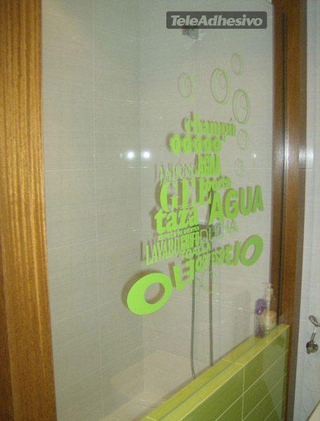 adesivi murali nel bagno