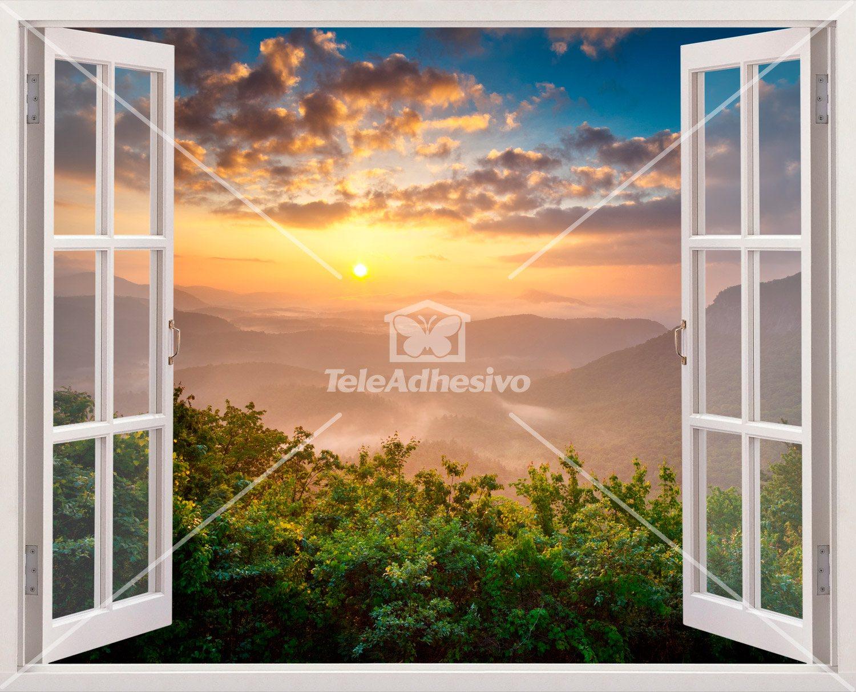 Adesivi Murali Sunset Paesaggio
