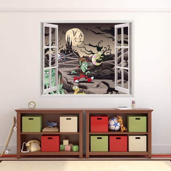 Adesivi murali finestre per bambini - Adesivi per finestre ...
