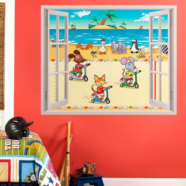 Adesivi murali finestre per bambini - Adesivi natalizi per finestre ...