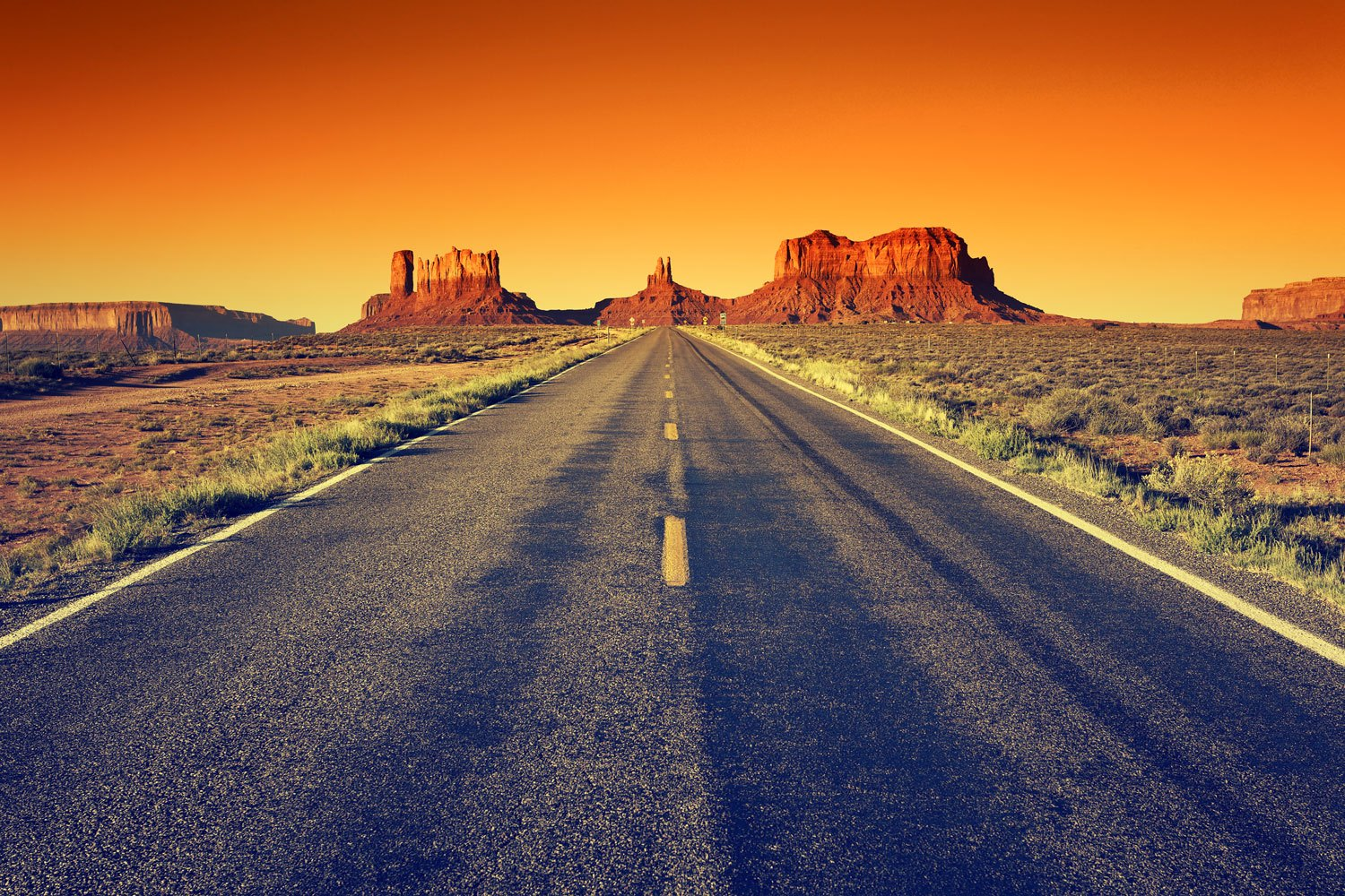 Fotomurali : Percorso Route 66 al Grand Canyon
